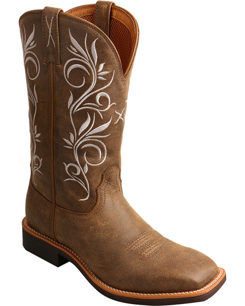 Twisted X Women's Top Hand Boot - Square Toe | Boot Barn