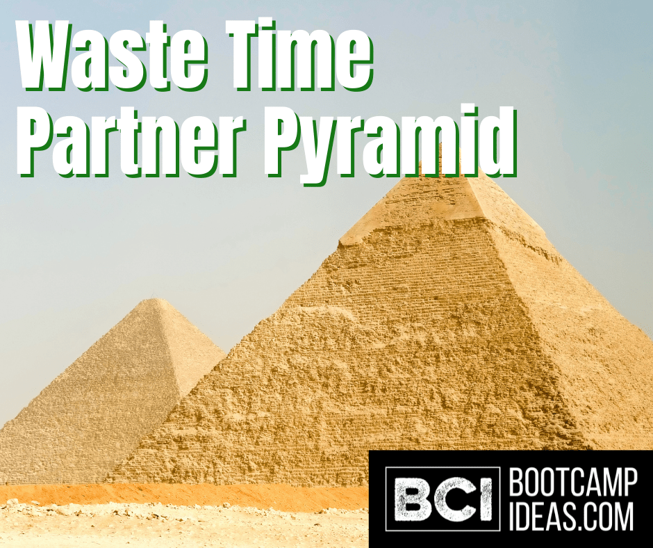 Waste Time Partner Pyramid