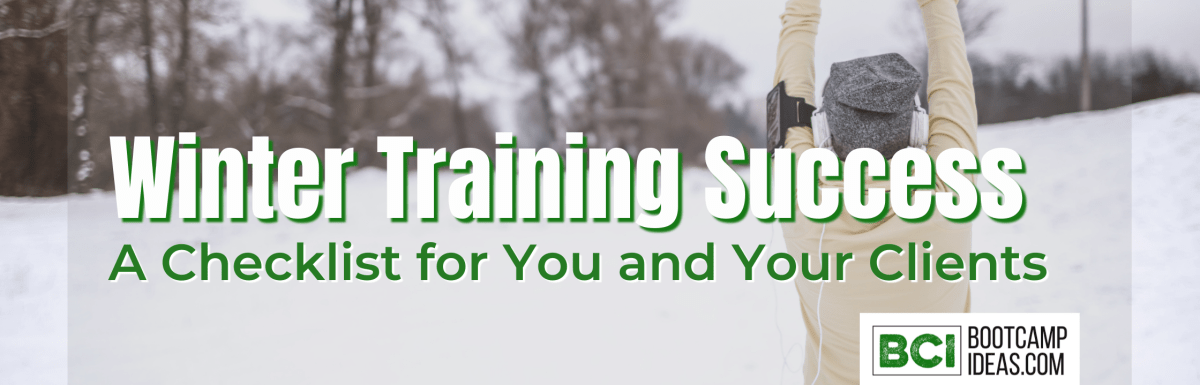 Winter Training Success - A Checklist For You and Your Clients