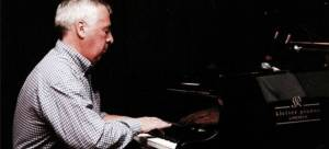 Jim Doherty playing piano