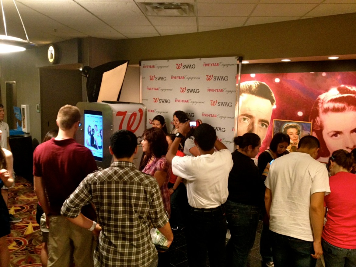 Booth 66 Texas Red Carpet Premier with Walgreens