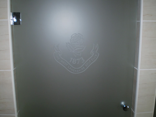 Bootle Glass - Bespoke Shower Scren with Etching