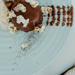 Luxurious chocolate pannacotta