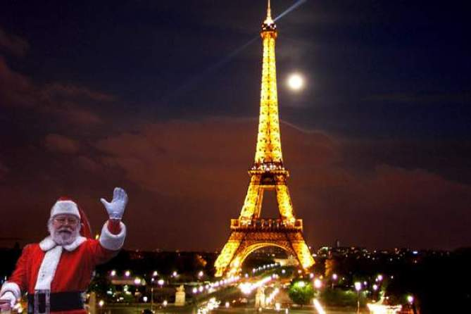 Image result for Santa Claus In Paris