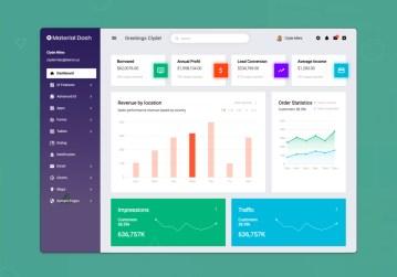 materialdash design templates