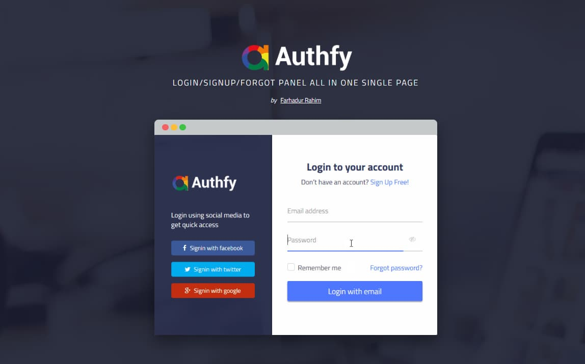 Bootstrap home page examples