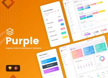 angular 6 admin template free download purple angular free