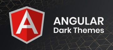 angular dark theme