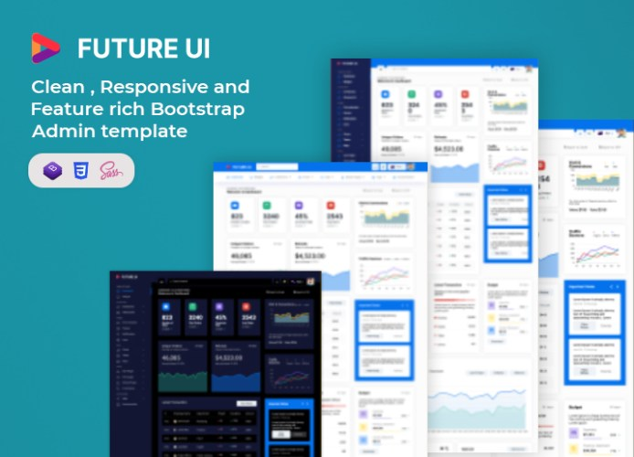 admin template future-ui admin dashboard