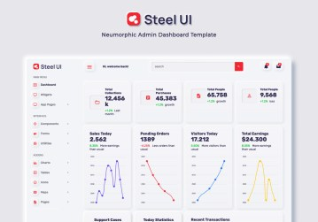 Thumbnail of Steel UI