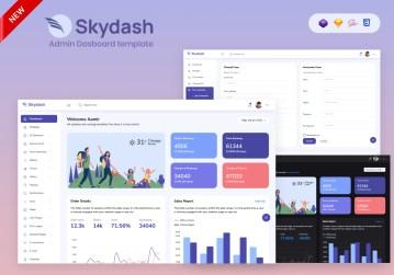 skydash bootstrap admin template