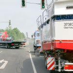 Bootstransport einer Motoryacht nach Rünthe