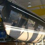 Backbordseite der Comfortina 38 Segelyacht