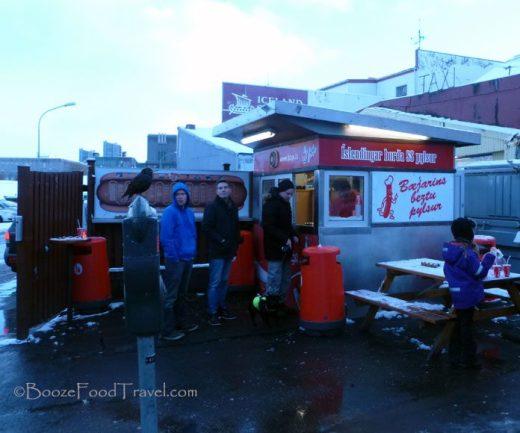 Bæjarins beztu pylsur hot dog stand