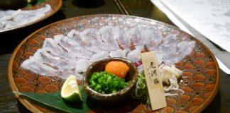 fugu sashimi tokyo