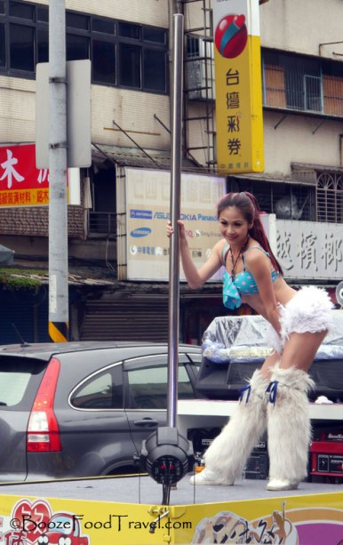 pole dancer taipei