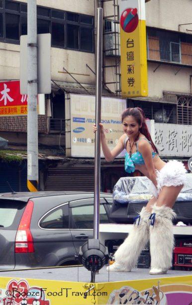 pole dancer taipei