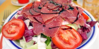 smoked duck salad italy