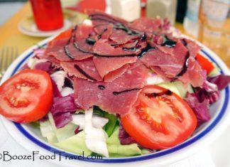smoked duck salad italy