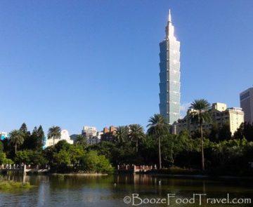 Taipei 101 from Sun Yat-sen Park