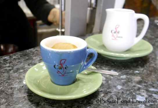 It's possible to find cheap espresso in Venice