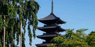 toji kyoto japan