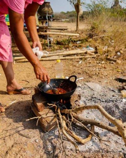 cooking bagan