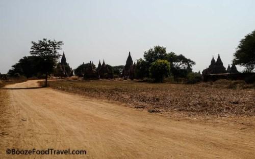 Road through Bagan