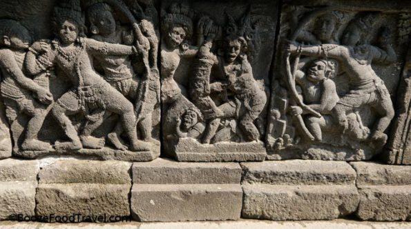 Prambanan relief