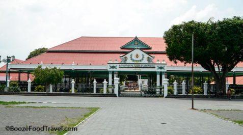 Yogyakarta sultan's palace