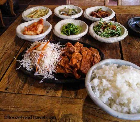 kimchi pork