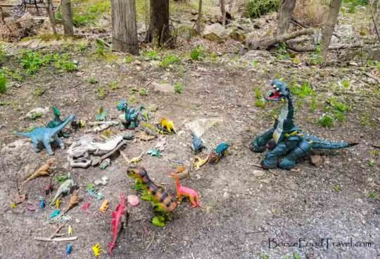 columbia trail dinosaurs