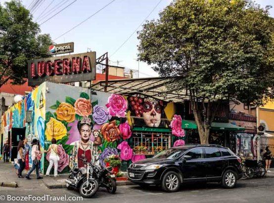 restaurant art mexico