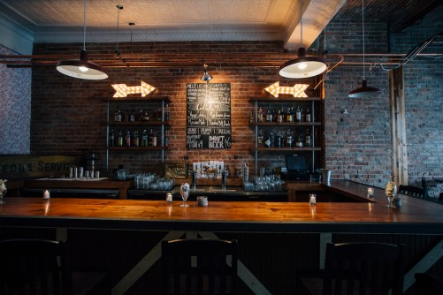 Tack Room bar/Photo: Steve Scap
