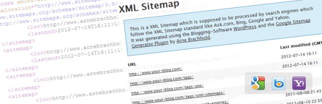 WordPress Plugin Google XML Sitemap
