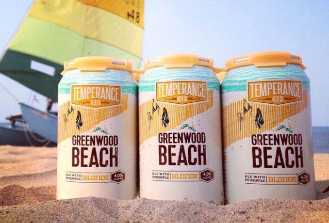 Temperance greenwood beach