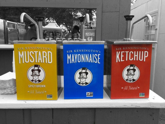 Kensington's condiments rule the world.