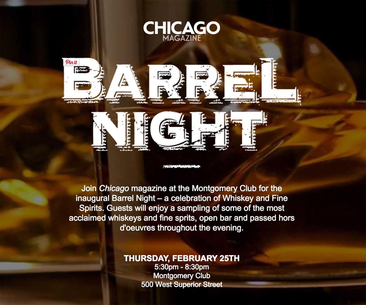 Chicago Magazine Barrel Night
