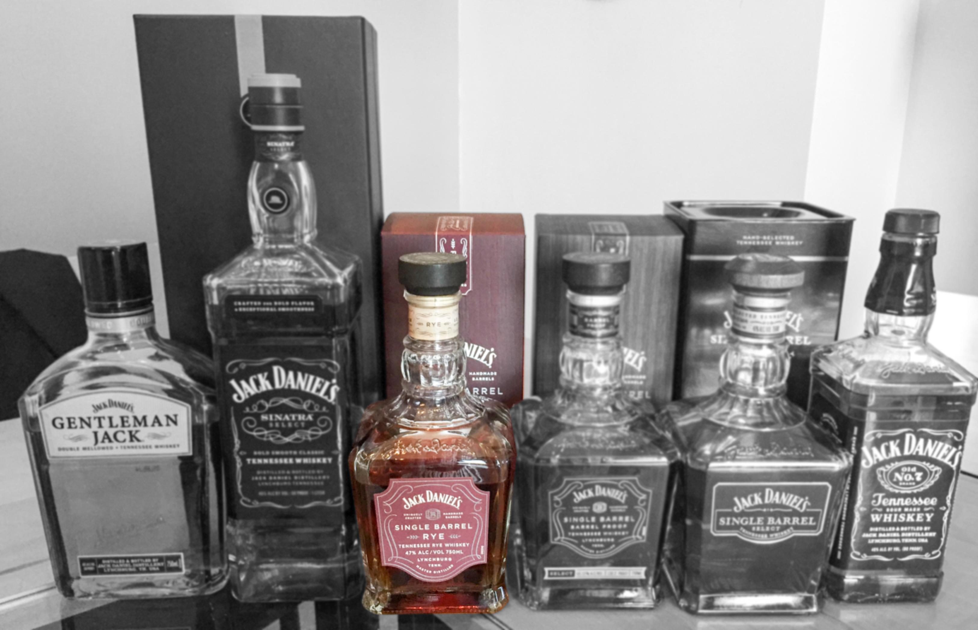 Jack Daniels Single Barrel Rye Boozist