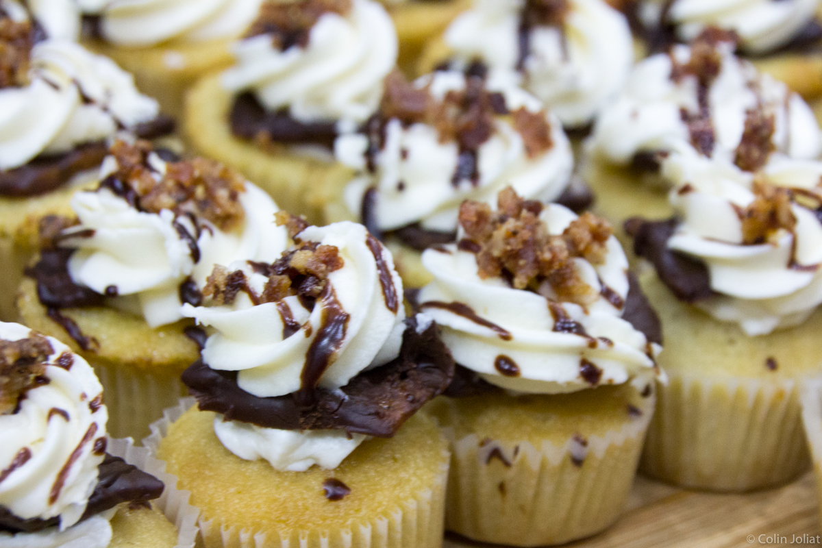 ZED 451 – Chicago is Bacon-me Crazy Cupcake