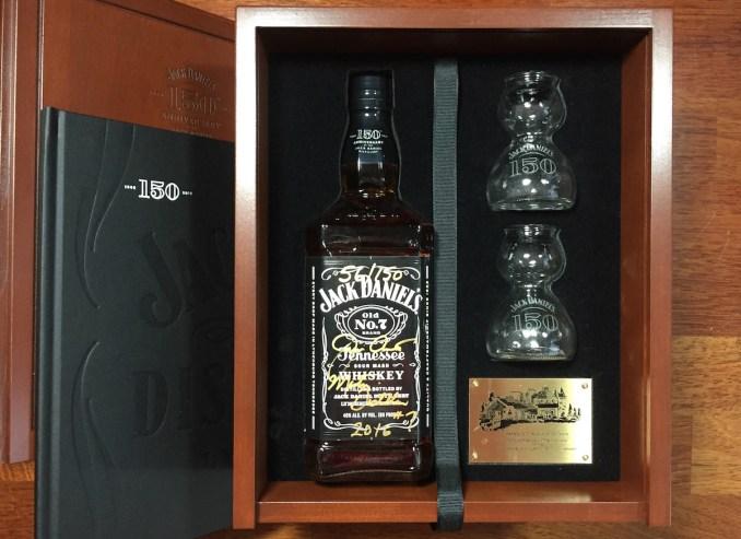 Jack Daniels 150th Anniversary Boozist Bottle