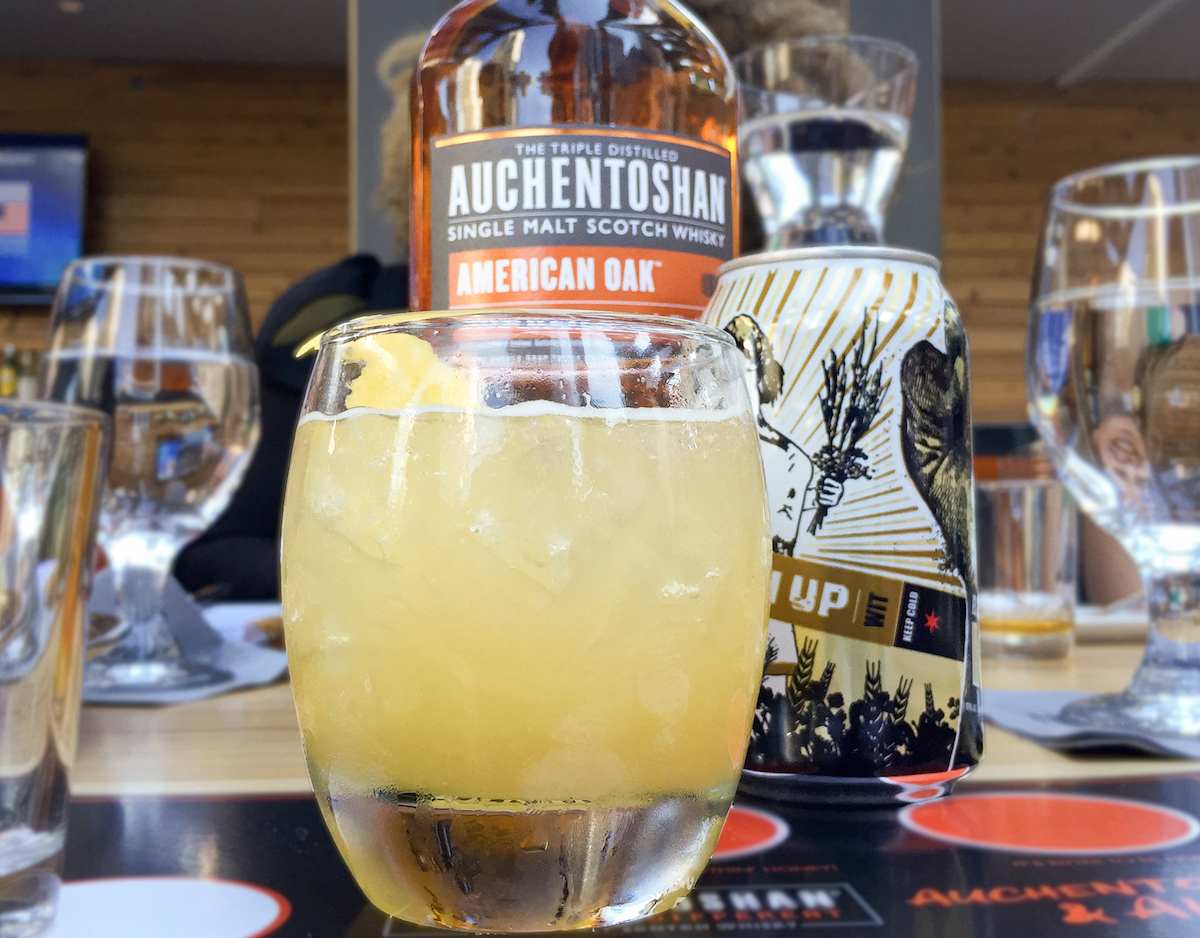 Scotch cocktails with beer? Yes please!
