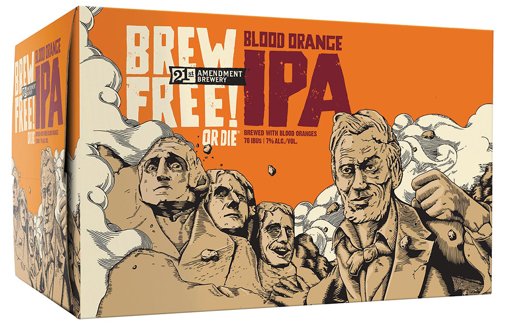 Brew Free Or Die IPA Blood Orange