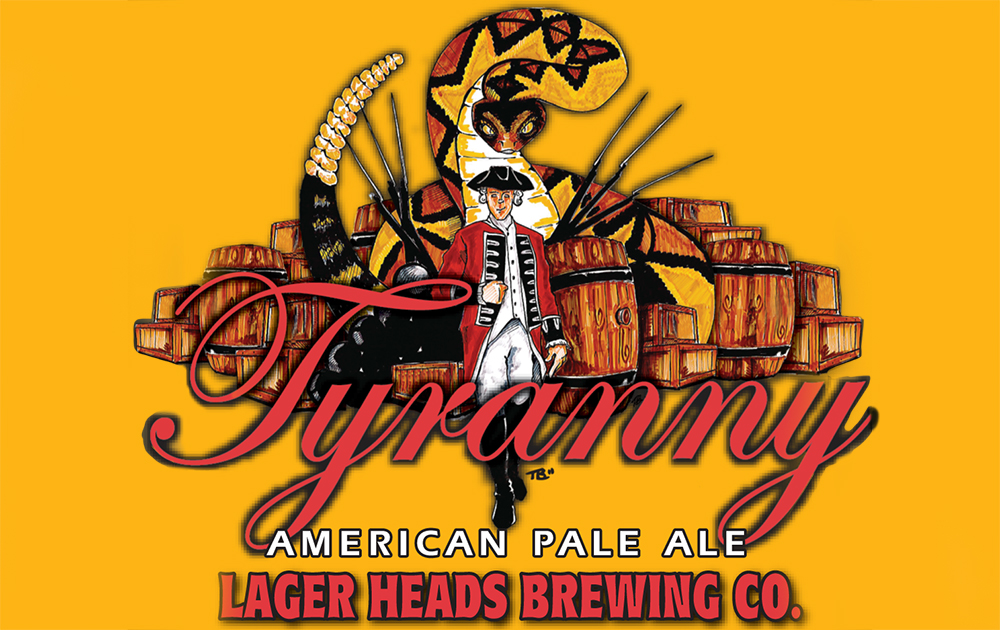 Lager Heads Tyranny