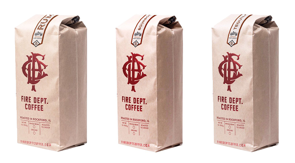 fire dept spirit infused coffee
