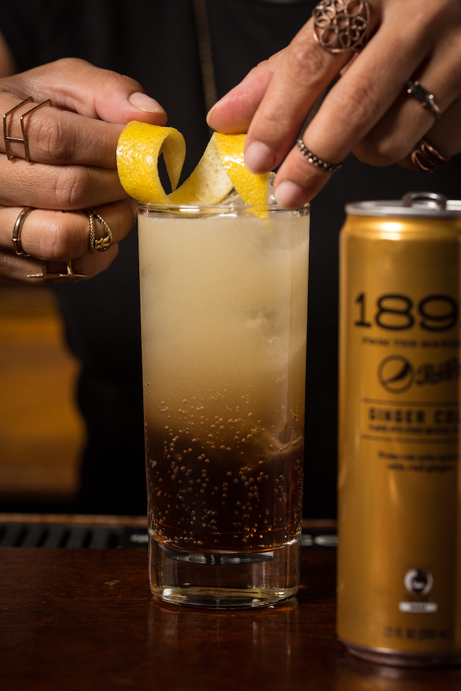 1893 Pepsi Cocktail Julia Momose Black & Gold