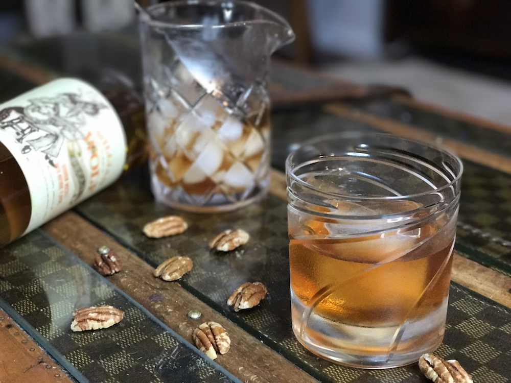 Pecan Old Fashioned is guaranteed to satisfy your sweet tooth