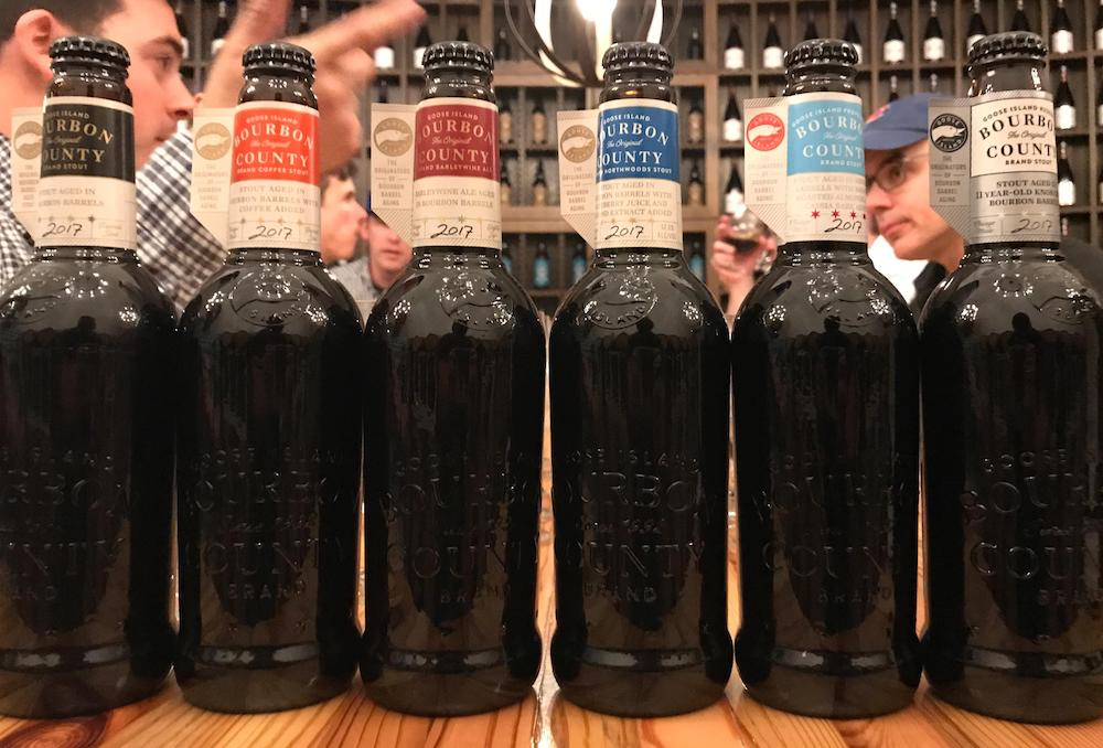 Goose Island Black Friday Bourbon County Lineup