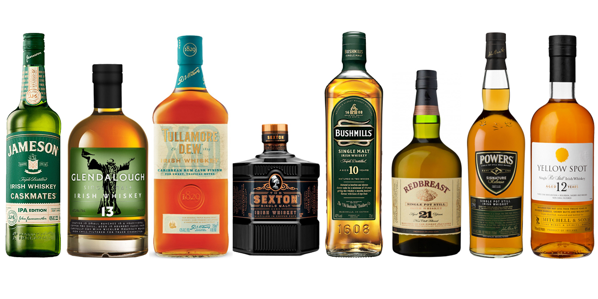 8 bottles of Irish whiskey that are a feast for St. Patrick's Day