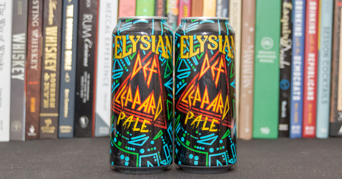 Def Leppard beer wins the award for best new groupie